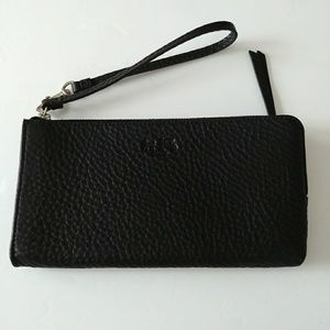 Coach NWT Black Clutch Wallet Wristlet